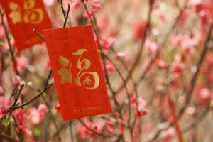 Nouvel An chinois Pochette rouge+é 1
