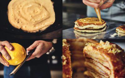 Le gâteau de crêpes de  Lilian Bonnefoi