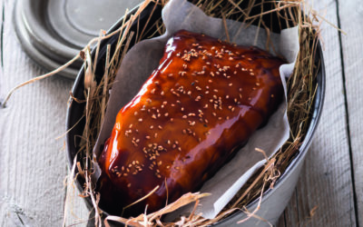 Foie gras rôti à l'étouffée
