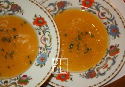 Citrouille…La soupe